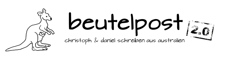 Header von beutelpost.de - Beutelpost - Christoph schreibt aus Australien