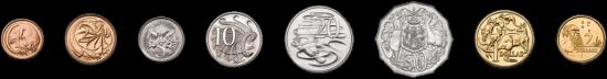 Die australischen Münzen