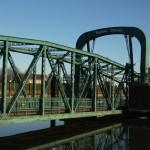 Die Nassau-Brücke in Wilhelmshaven