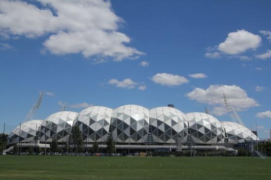 Melbournes Fußball-Stadtion AAMI Park.