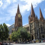 Melbourne: St Pauls Cathedral