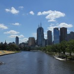 Melbourne: Yarra und Skyline