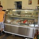 Deutsches Essen in Australien - Wurstman - Ich mit der Fleischtheke