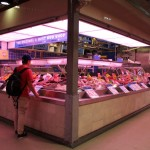 Melbourne Queen Victoria Market 08 - Meat Section Fleischmarkt