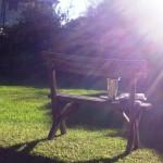 Melbourne im Mai - Chillen im Garten - IMG_0376