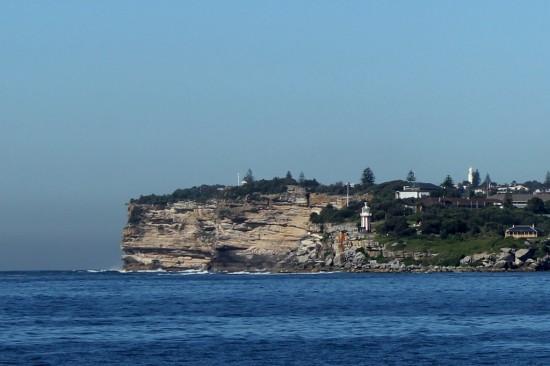 Sydney Camp 21 - The Gap vom Wasser aus - IMG_1110-3