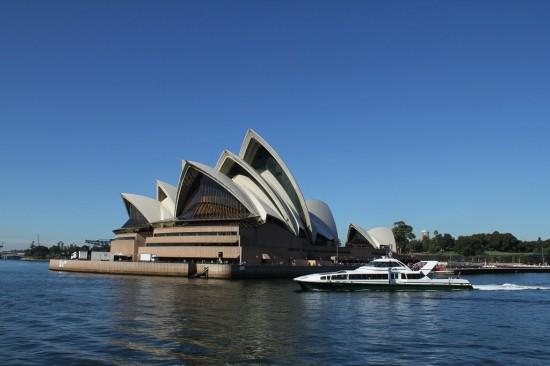 Sydney Camp 23 - Opera House vom Wasser aus - IMG_1154