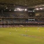 Australian Football Aussie Rules Footy 01 - Überblick über Platz - IMG_2447