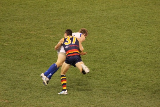 Australian Football Aussie Rules Footy - Tackle - IMG_2393