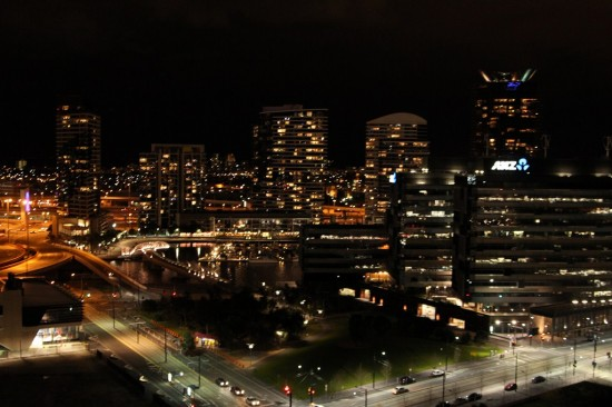 Melbourne - Hochhäuser bei Nacht - IMG_3644