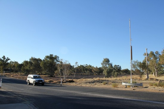 Alice Springs - Tuncks Road durch Todd River - IMG_4185