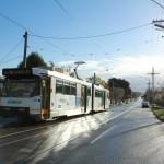 Melbourne Tram Sonnenschein nach Unwetter - IMG_5643