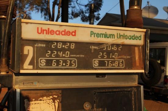 Ouback - Benzinpreise im Nirgendwo - IMG_5029