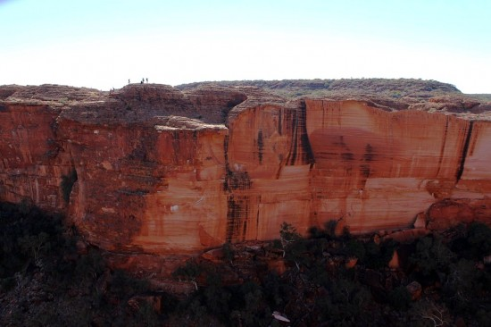 Outback - Eine Wand des Kings Canyon - IMG_5428-2