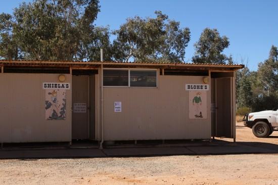 Outback - Toiletten mit Aussie Slang - IMG_4375