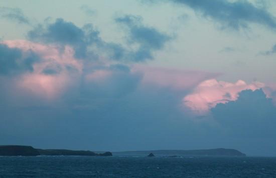 Phillip Island - Abendhimmel über Pyramid Rock - IMG_5903-3