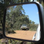 4WD Powerlines 02 - Toyota in Mirror - IMG_6558