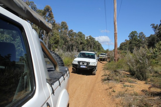 4WD Powerlines - Convoy on Dirt Road - IMG_6559