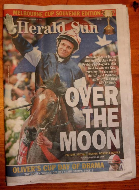 2012-11-07 Titelseite Herald Sun - IMG_7680-3