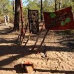 Dort bekamen wir von Graham, dem Chief des lokalen Aborigine-Stammes, eine kleine Cultural Experience.