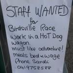 02 Plakat Sandi Job Birdsville - 20140828_165723-2